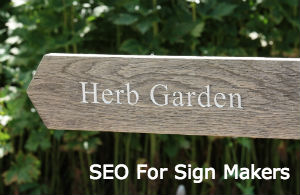 SEO for sign makers