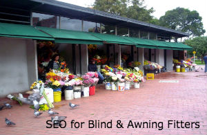 SEO for blind and Awning Fitters